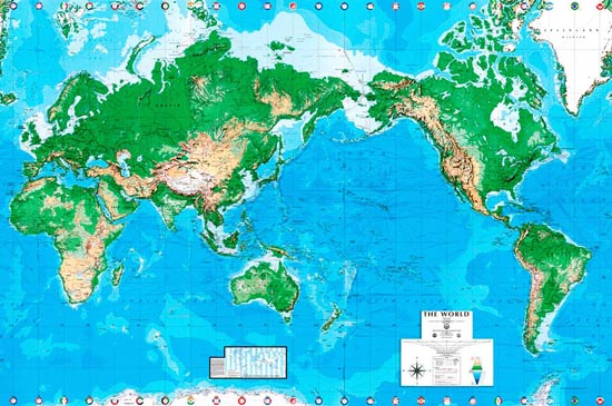 Egi world map australian mural egi maps murals your way for Australian mural