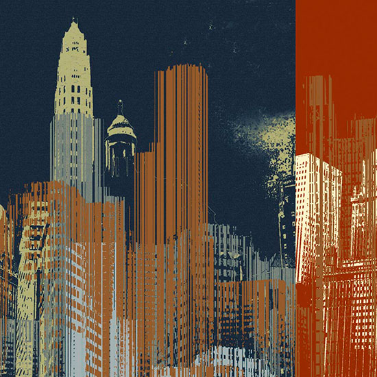 City landscape scenes murals murals your way for City scape mural
