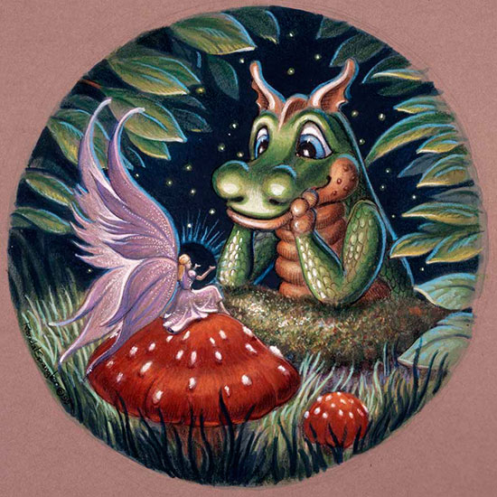 Friendly dragons murals 31