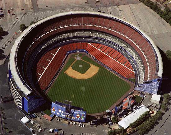 Shea stadium mural for Baseball stadium mural