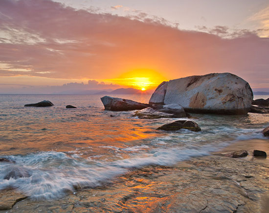 setting sun african caribbean - photo #10